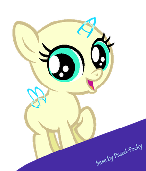Small pone - MLP Base by Pastel-Pocky