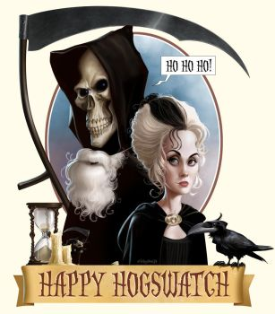 Happy Hogswatch! by Loopydave