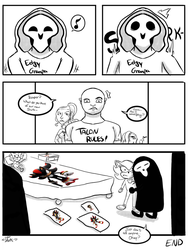 Even Reapers can be nerds by Dork-with-wings