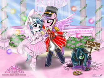 Commission: Shining Armor and Nutcracker by AVCHonline