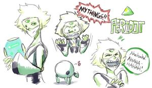 Doodle Peridot by Scurazales