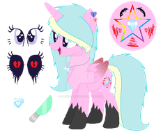 Mlp rainbow killer's new look by DangerDana220