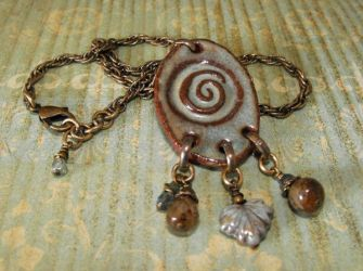 Another Leaf on the Wind necklace by JLHilton