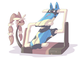 flexiblucario 11 by dlrowdog