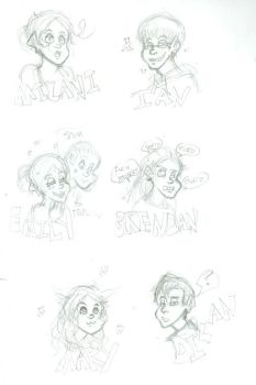 Some Doodles 2012 by NessaRu