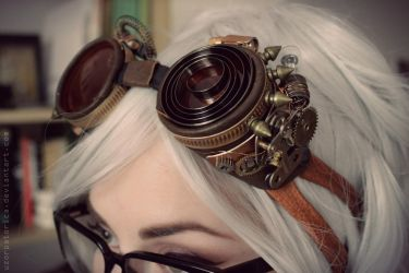 Steampunk Goggles by uzorpatorica