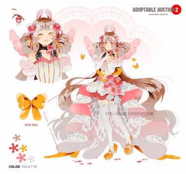 Adoptable auction: KOTOKO the angel bunny [CLOSED] by Hetiru