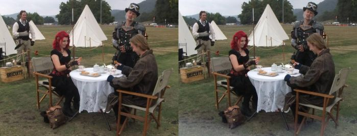 Tea Duelling at Ironfest by 3DMG