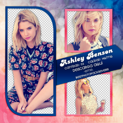 Png Pack 262 - Ashley Benson by southsidepngs