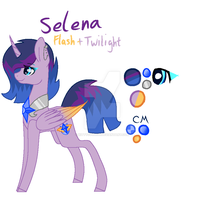 Twilight x flash = Selena by Kittycool103