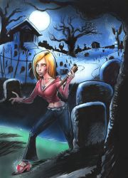Buffy the Vampire Slayer by willterrell