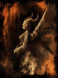 Demon Sketch 05 by ChrisCold