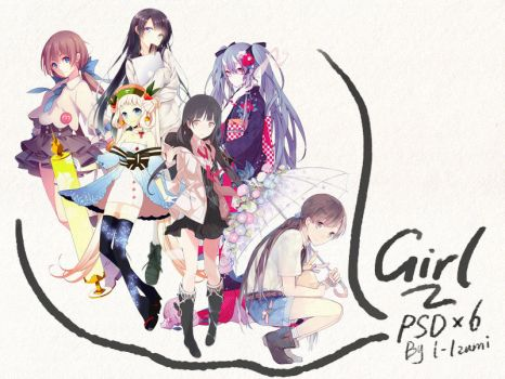 Girls png by cikicat