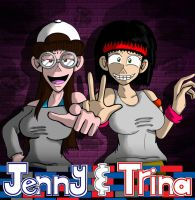 Jenny and Trina by JFMstudios