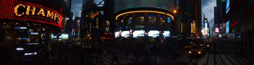 Times Square from Moving Bus 2012-08-14 by eRality