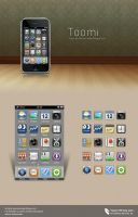 Toomi -- iPhone icons by kingyoART