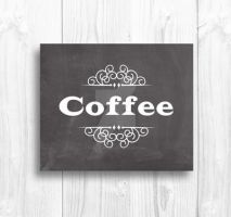 Coffee Typography Design by Thelildesigns