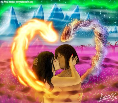 Korrasami - Spirit World by The-Blue-Dragon-Lord