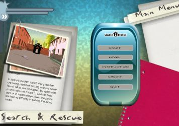 Search N Rescue GUI Prototype by ArsalanAly