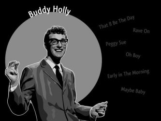 Buddy Holly by TAntoine