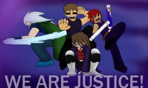 WE ARE JUSTICE by Reapinginprogress