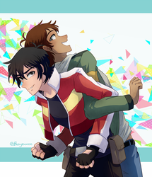 Keith and Lance by Buryooooo