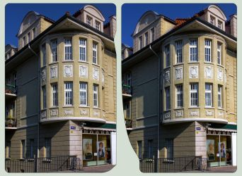 Quedlinburg, Steinweg ::: Cross-View HDR-3D by zour