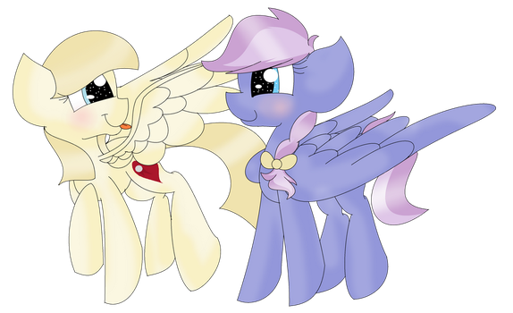 RQ-Heartstabber and Rosa Pi by TheMajesticButter394