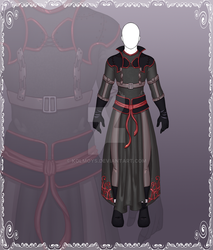[Close] Adoptable Outfit Auction 115 by Kolmoys
