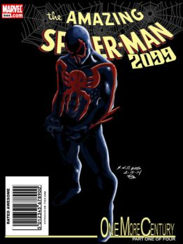 Amazing Spider-man #544 by man0ftomorrow