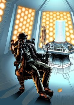 The Seventh Doctor (2012) Colours by SteveAndrew