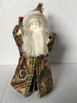 Father Christmas Tree Decoration by wintersmagicstock
