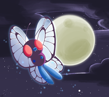 Butterfree by Catsupy