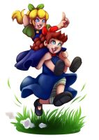 Mario Bros Legacy #4 Mela and Pera by LC-Holy