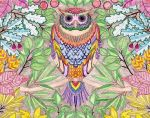Secret Garden Owl by WiccaSmurf