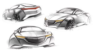Sports Car Concept by LoccoRico