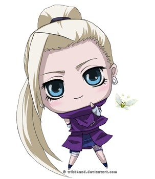 Ino and the Butterfly by wikkhead