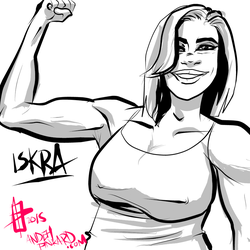 Iskra   Hires by andehpinkard