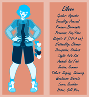 Eileen Character Sheet by AsterianMonarch