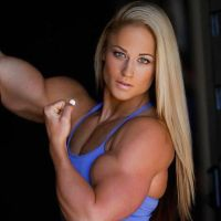 Olivia Moschetti Muscled by Turbo99