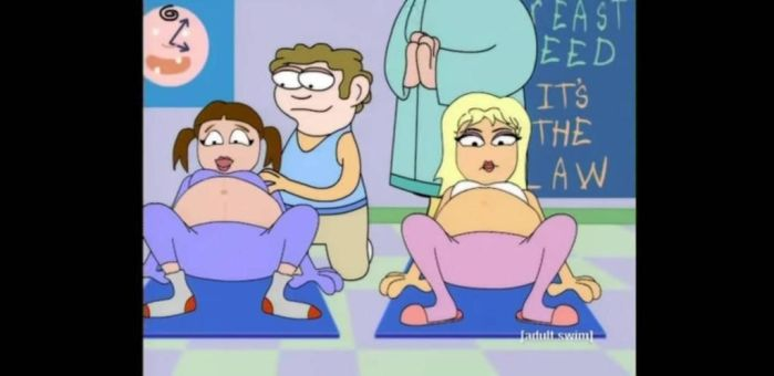 Home Movies, Linda pregnant 2 by ThatOneWanderer