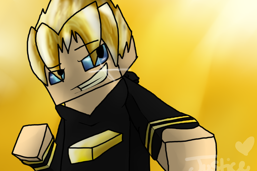GoldSolace Fan Art :D by Toxic-Justice