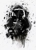 Darth Vader by ALOKDUBEY