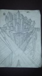 3pt Perspective City by msfightera