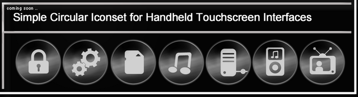 Touchscreen iconset preview by EffECKTz
