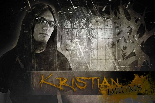Kristian Drums by JAVMATH