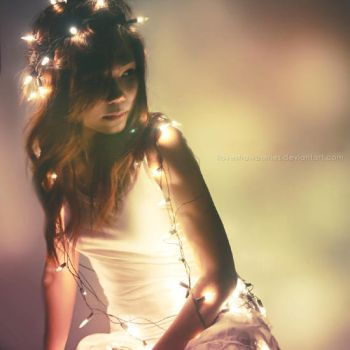 Fairy lights by ilovestrawberries
