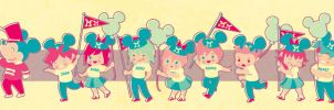 KH: Mickey Mouse Club by pepper-tea