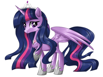 Adult Twilight Sparkle by Sunshineshiny