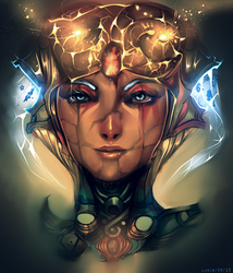 Sejuani by Luxial